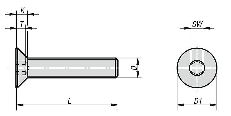 kipp platverzonken schroeven met binnenzeskant din en iso 10642. Black Bedroom Furniture Sets. Home Design Ideas